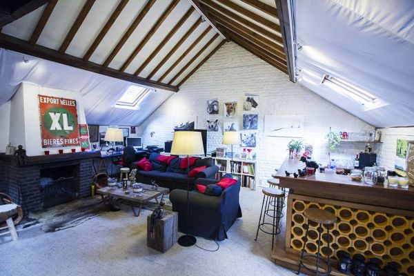 Picture of an event venue rental in Elsene, Brussels, Inside Robert's house 433