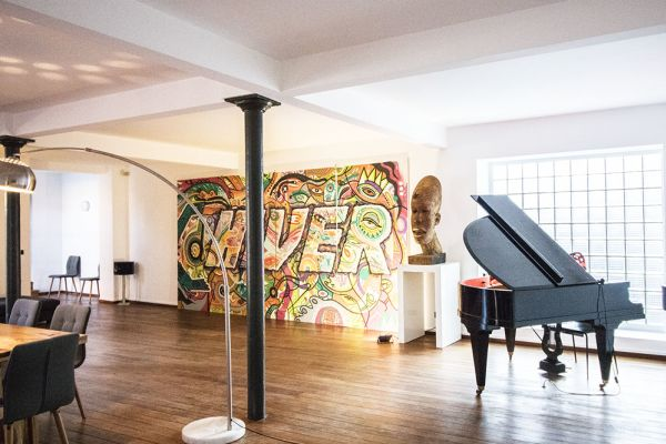 Picture of an event venue rental in Brussel, Brussels, Inside Iole's loft 487