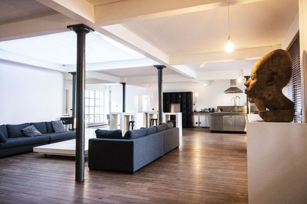 Picture of an event venue rental in Brussel, Brussels, Inside Iole's loft 490