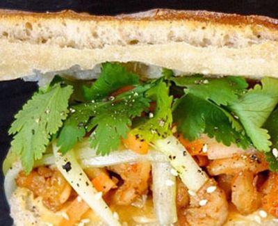Photo menu The vietnamese style : crevettes à la vietnamienne