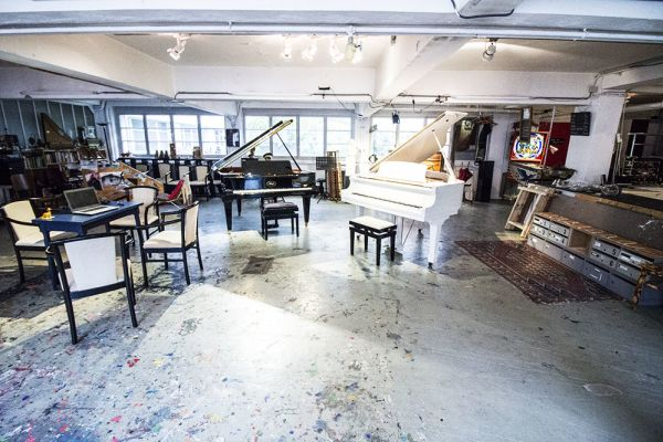 Picture of an event venue rental in Elsene, Brussels, Inside Eric's workshop 544