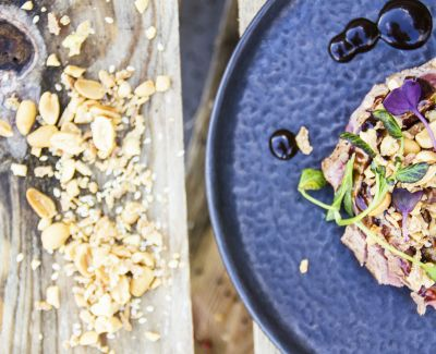 Photo menu Salade croquante aux milles saveurs