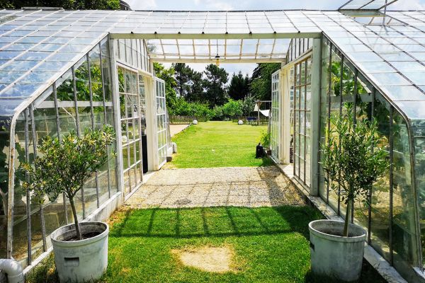 Picture of an event venue rental in Overijse, Flemish Brabant, Inside Arnaud's & Pascaline's greenhouse 10673