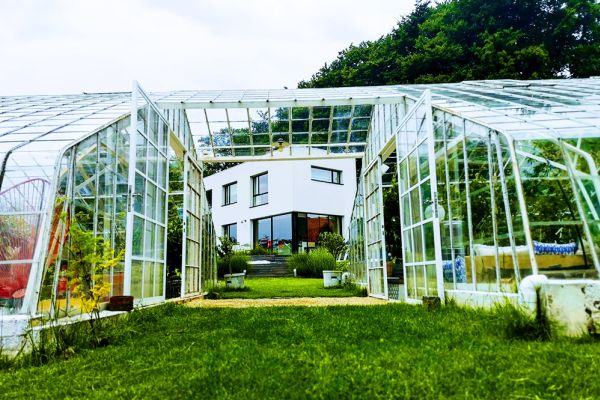 Picture of an event venue rental in Overijse, Flemish Brabant, Inside Arnaud's & Pascaline's greenhouse 10676