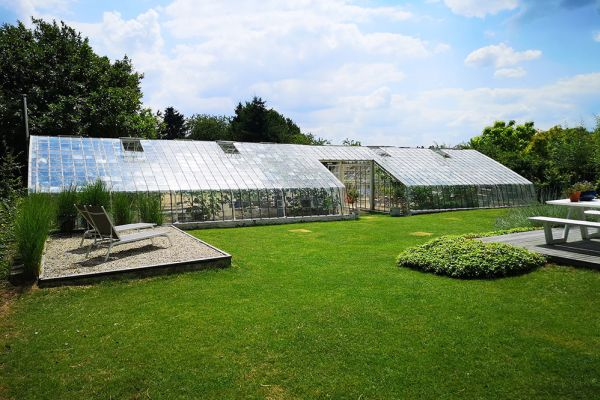 Picture of an event venue rental in Overijse, Flemish Brabant, Inside Arnaud's & Pascaline's greenhouse 10679