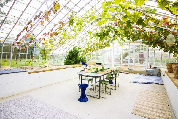 Picture of an event venue rental in Overijse, Flemish Brabant, Inside Arnaud's & Pascaline's greenhouse 76