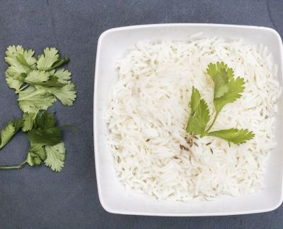Photo menu Riz Basmati