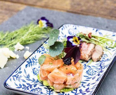 Photo menu Tartare de saumon