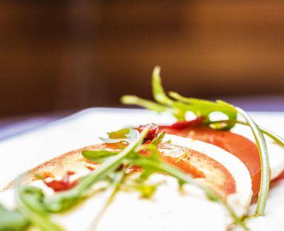 Photo menu Tomates & mozzarella