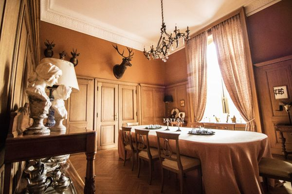 Picture of an event venue rental in Lubbeek, Flemish Brabant, Inside Sylviane's castle 1837