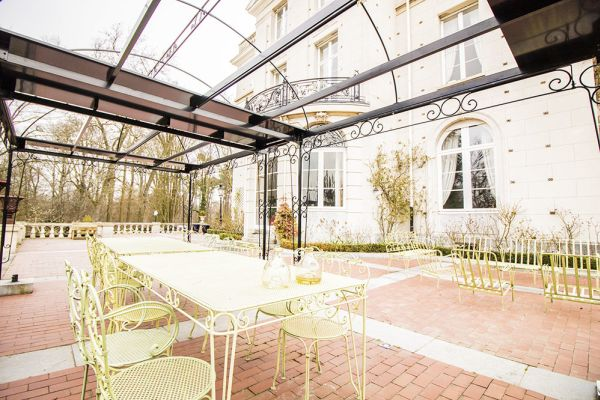 Picture of an event venue rental in Lubbeek, Flemish Brabant, Inside Sylviane's castle 1841