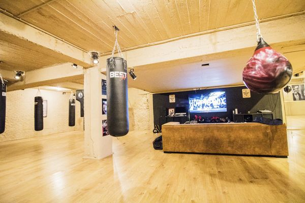 Picture of an event venue rental in Brussel, Brussels, Inside Axel's & Serges' boxing club 1884