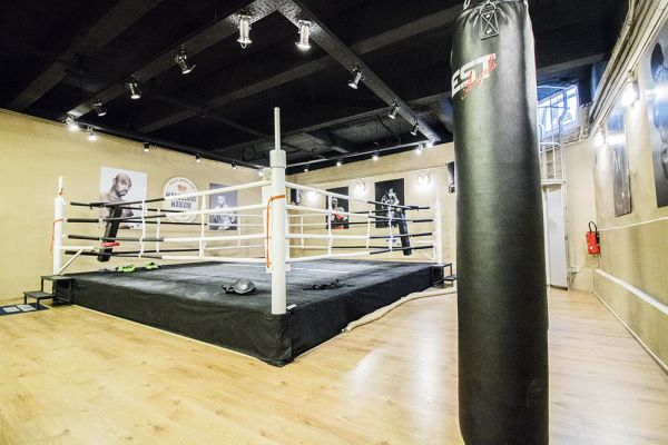 Picture of an event venue rental in Brussel, Brussels, Inside Axel's & Serges' boxing club 1892