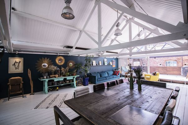 Picture of an event venue rental in Bruxelles, Brussels, Inside Océane's & Brice's loft 1934
