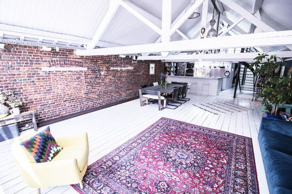 Picture of an event venue rental in Bruxelles, Brussels, Inside Océane's & Brice's loft 1938