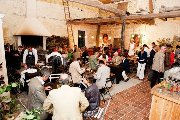 Picture of an event venue rental in Bierbeek, Flemish Brabant, Inside Picolette's barn 2001
