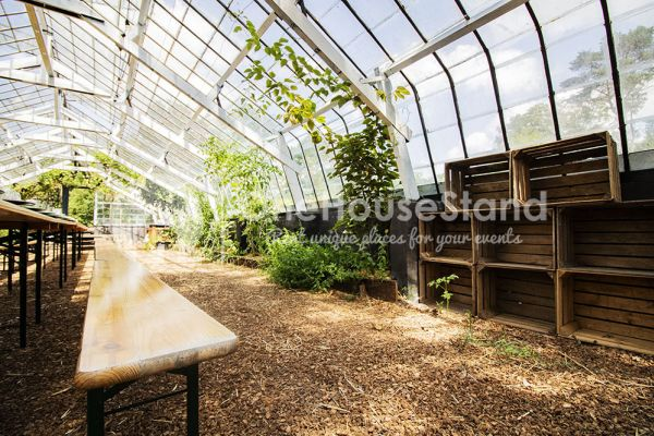 Picture of an event venue rental in Rosières, Walloon Brabant, Inside Bruno & Amandine's greenhouse 11191