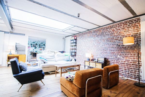 Picture of an event venue rental in Schaarbeek, Brussels, Inside Quentin's & Maude's loft 2095