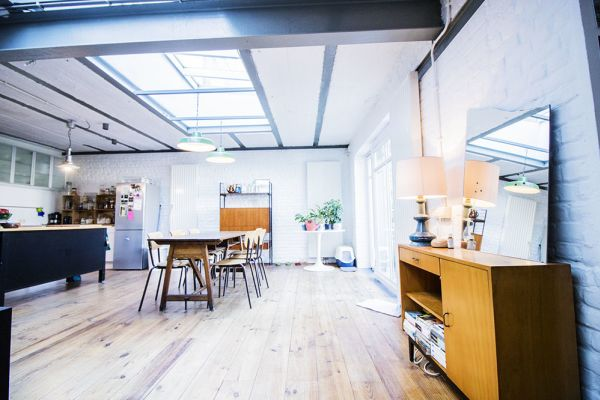 Picture of an event venue rental in Schaarbeek, Brussels, Inside Quentin's & Maude's loft 2097