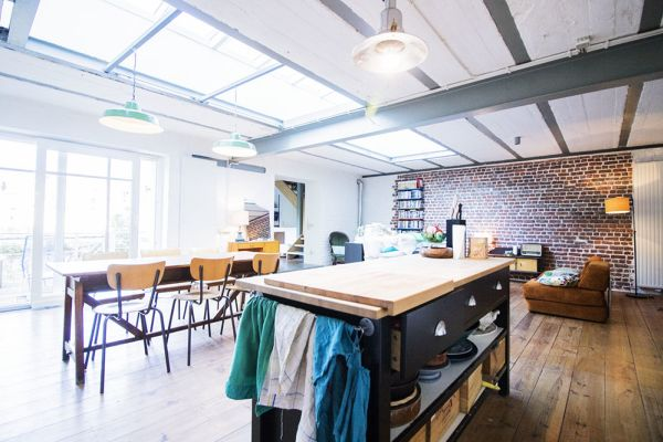 Picture of an event venue rental in Schaarbeek, Brussels, Inside Quentin's & Maude's loft 2099