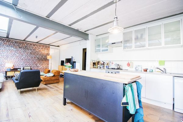 Picture of an event venue rental in Schaarbeek, Brussels, Inside Quentin's & Maude's loft 2100