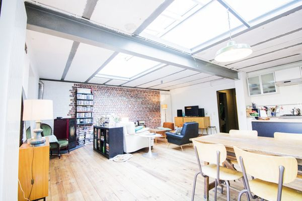 Picture of an event venue rental in Schaarbeek, Brussels, Inside Quentin's & Maude's loft 2101