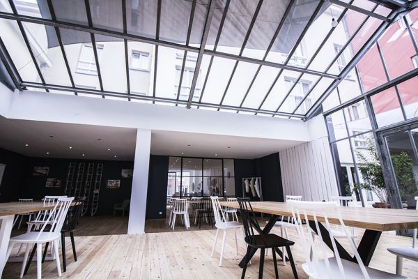 Picture of an event venue rental in Schaarbeek, Brussels, Inside Virginie's glass room 2203