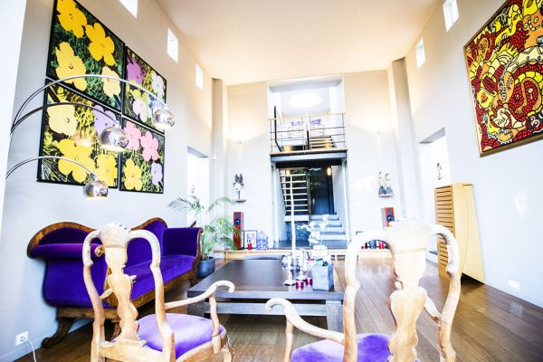 Photo d'une salle à louer à Uccle, Bruxelles, Dans la maison de Claudine 2353