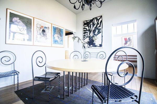 Photo d'une salle à louer à Uccle, Bruxelles, Dans la maison de Claudine 2368