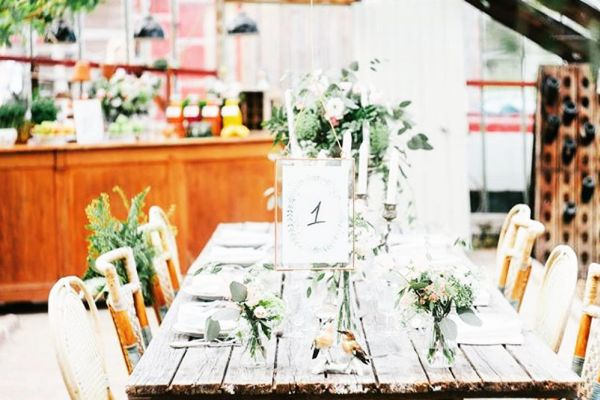Picture of an event venue rental in Hoeilaart, Flemish Brabant, Inside Cécile & Michel's greenhouse 2810
