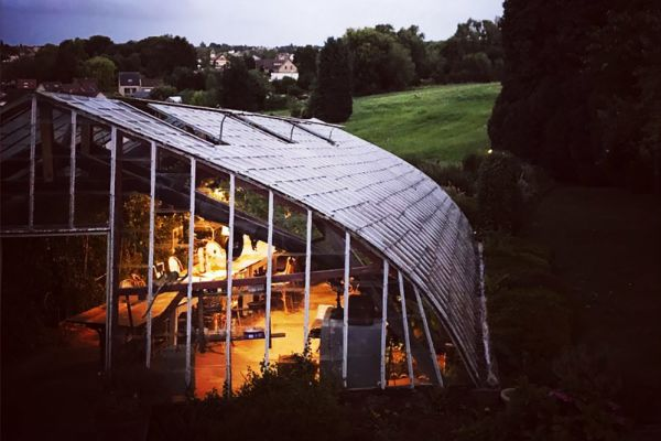 Picture of an event venue rental in Hoeilaart, Flemish Brabant, Inside Cécile & Michel's greenhouse 2812