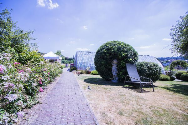 Picture of an event venue rental in Hoeilaart, Flemish Brabant, Inside Cécile & Michel's greenhouse 2814