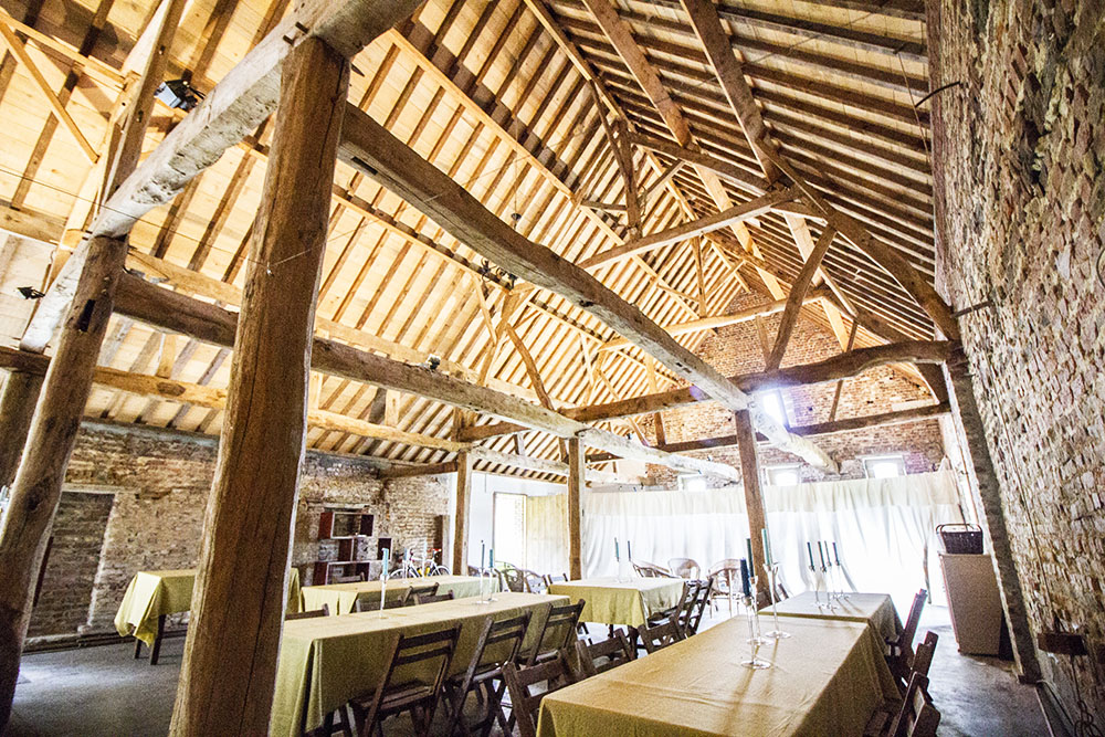 Picture of an event venue rental in Herfelingen, Flemish Brabant, Inside Odile's barn 818
