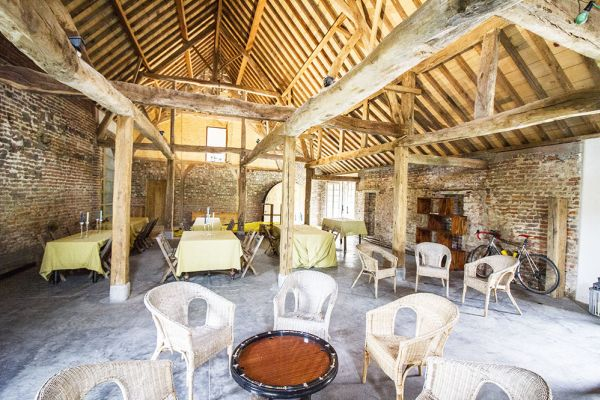Picture of an event venue rental in Herfelingen, Flemish Brabant, Inside Odile's barn 819