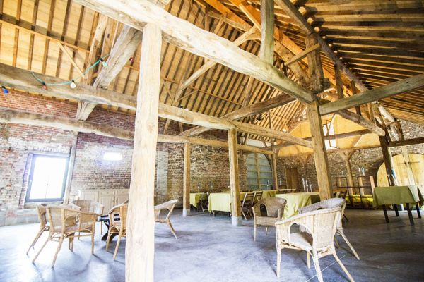 Picture of an event venue rental in Herfelingen, Flemish Brabant, Inside Odile's barn 821