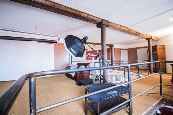 Picture of an event venue rental in Schaerbeek, Brussels, Inside Jean-Philippe's loft 3059