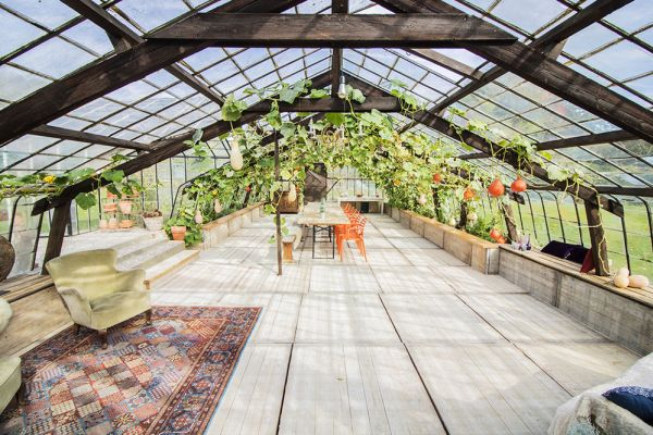 Picture of an event venue rental in Overijse, Flemish Brabant, Inside Donatienne's greenhouse 3769