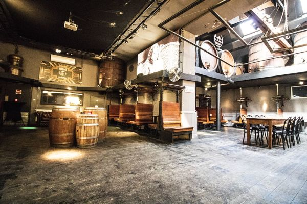 Picture of an event venue rental in Elsene, Brussels, Inside Christophe's basement 3836
