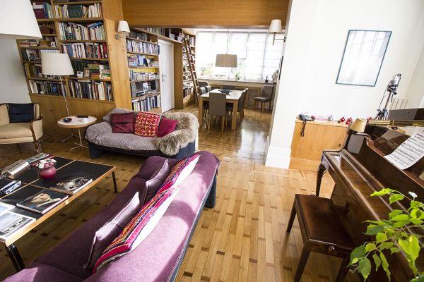 Photo d'une salle à louer à Uccle, Bruxelles, Dans la maison de Carlo & Luisa 923