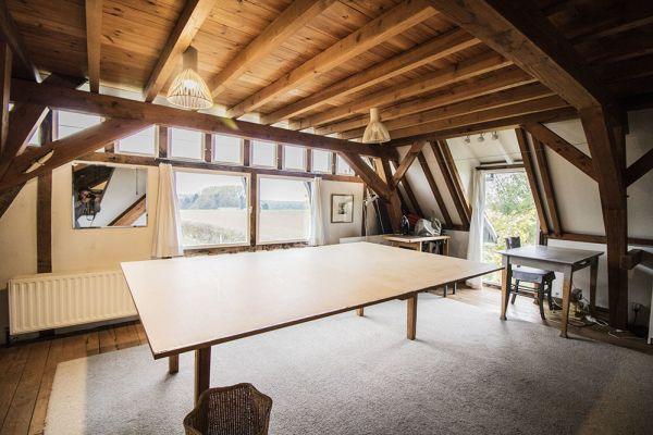 Photo d'une salle à louer à Asper, Flandre Orientale, Dans la maison de Catherine 4052