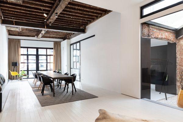 Photo d'une salle à louer à Antwerp, Anvers, Dans la maison de Claudia (rez-de-chaussée) 4150