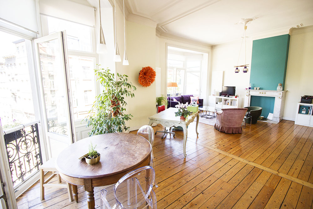 Picture of an event venue rental in Saint-Gilles, Brussels, Inside Viviane's flat 956