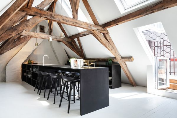 Picture of an event venue rental in Anvers, Antwerp, Inside Claudia's house (2nd, 3rd floor & terrace) 4178