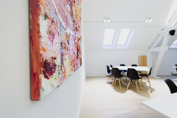 Picture of an event venue rental in Hoeilaart, Flemish Brabant, Inside Laurence & Filip's office 4340