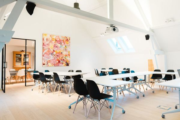 Picture of an event venue rental in Hoeilaart, Flemish Brabant, Inside Laurence & Filip's office 4349