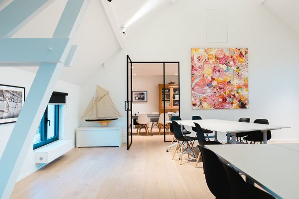 Picture of an event venue rental in Hoeilaart, Flemish Brabant, Inside Laurence & Filip's loft & office 4379