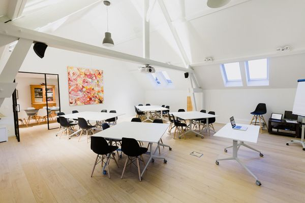 Picture of an event venue rental in Hoeilaart, Flemish Brabant, Inside Laurence & Filip's loft & office 4390