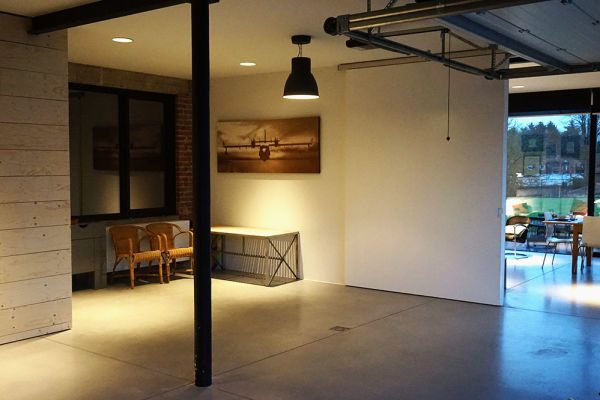 Picture of an event venue rental in Hoeilaart, Flemish Brabant, Inside Laurence & Filip's loft & office 4807
