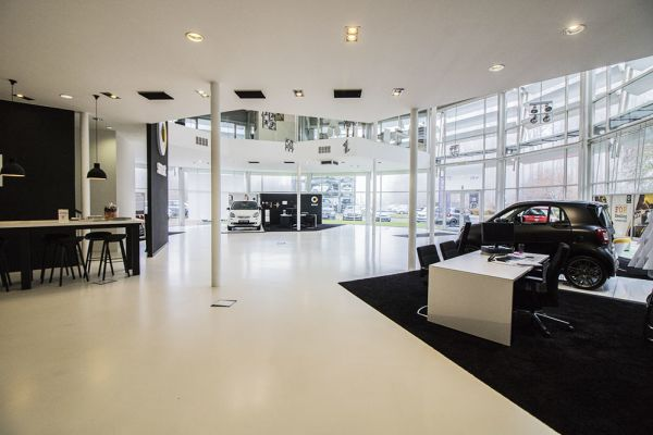 Picture of an event venue rental in Auderghem, Brussels, Inside Alexis' showroom 4775