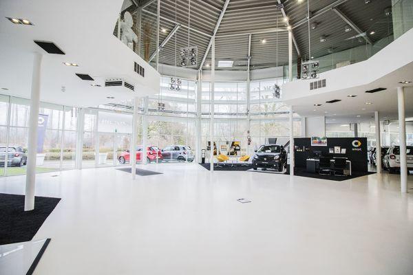 Photo d'une salle à louer à Auderghem, Bruxelles, Dans le showroom d'Alexis 4784